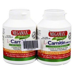 MEGAMAX L-Carnitin 1000 mg Tabletten