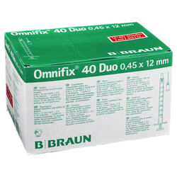 OMNIFIX Duo 40 Insulinspr.1 ml