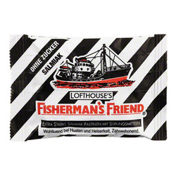 FISHERMANS FRIEND Salmiak ohne Zucker Pastillen