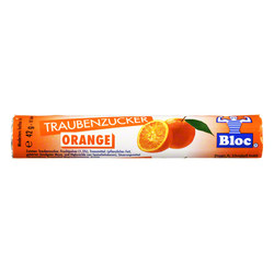 BLOC Traubenzucker Orange Rolle