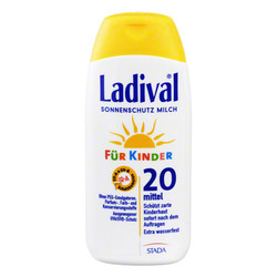 LADIVAL Kinder Sonnenmilch LSF 20